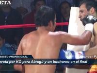 Video: Abregú tuvo su peor retorno, perdió por KO y con escándalo