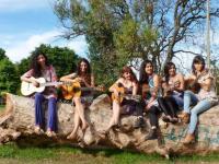 Seis mujeres, seis guitarras y muchas músicas