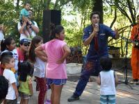 Los Juanetes hicieron bailar a los niños en el Cerro