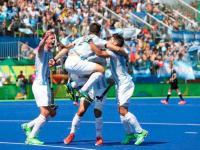Los Leones le ganaron a Bélgica 4 a 2 y se quedaron con el oro