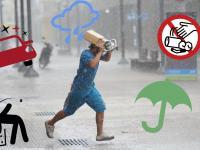 Cinco claves que tenés que saber para los días de lluvia