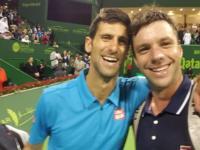 Un tenista argentino jugó contra Novak Djokovic y le pidió una selfie luego de perder