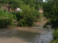 Video: así fue la búsqueda de los jóvenes en el río Arenales