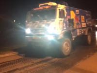 Video: Mirá la llegada de los primeros vehículos del Dakar al Centro de Convenciones
