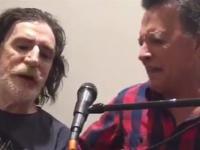 Video: Charly García y Palito Ortega cantaron juntos
