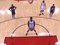 Video: Chinanu Onuaku sorprende a la NBA por tirar libres como un niño