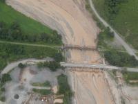 Este es el tramo cortado en la Ruta Nacional N° 51