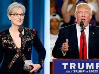 Donald Trump le respondió la crítica a Meryl Streep