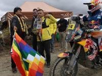 En Motos, Ricky Brabec ganó la etapa del Dakar 2017