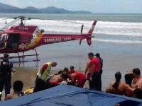 Un turista argentino murió ahogado mientras veraneaba en las playas de Brasil