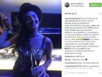 Jana Maradona debutó como