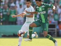 Chapecoense empato con Palmeiras en su primer cotejo después de la tragedia