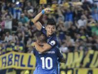 Boca, con una ráfaga de buen fútbol le ganó a Estudiantes
