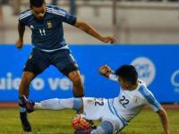 Intenso partido: Argentina y Uruguay igualaron
