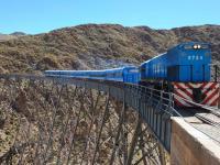 El Tren a las Nubes vuelve a viajar después de los aludes en Los Andes