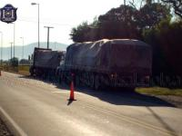 Tres camioneros manejaban bajo los efectos del alcohol