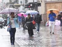 La lluvia trae alivio y refresca en Salta