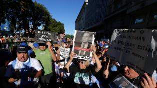 La ex esposa y el asesor de Nisman, enfrentados