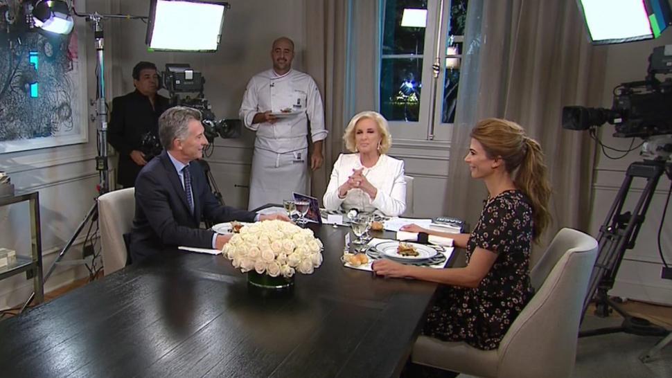 Mirtha Legrand, sobre su cena con Mauricio Macri: