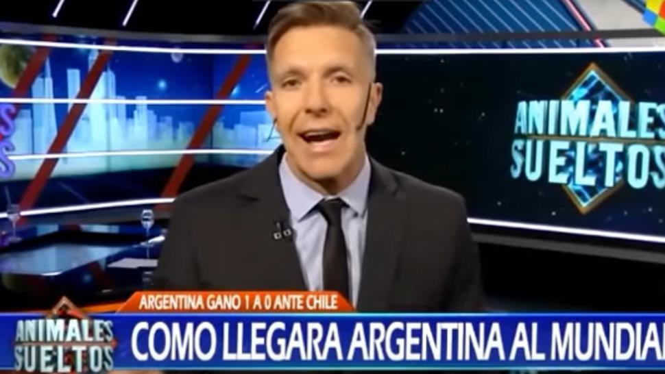 Alejandro Fantino destrozó a la Selección Nacional tras el partido con Chile