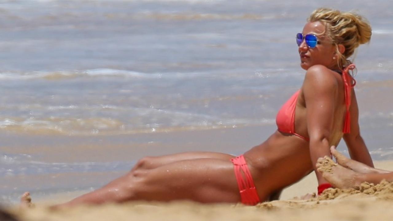 Britney Spears impactó en bikini