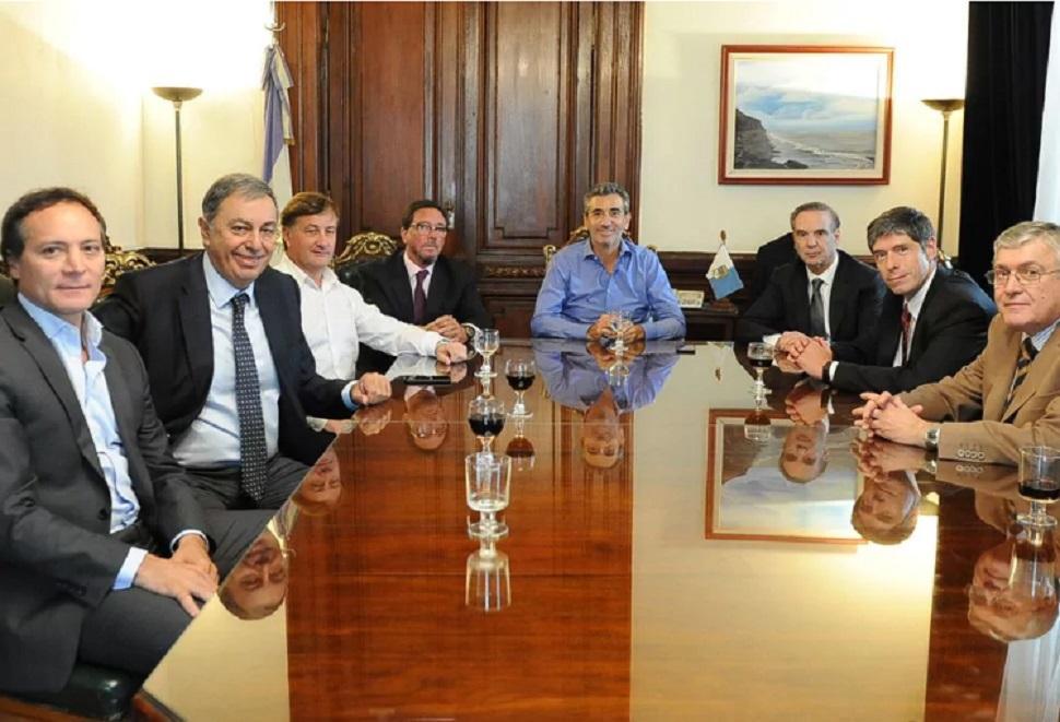 Randazzo se reunió con Abal Medina y Pichetto