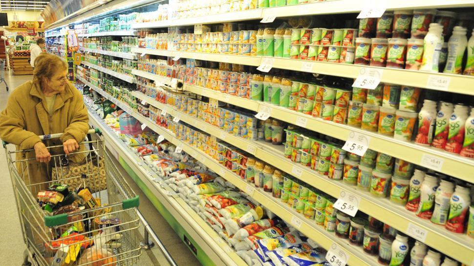 En febrero hubo un fuerte descenso del consumo