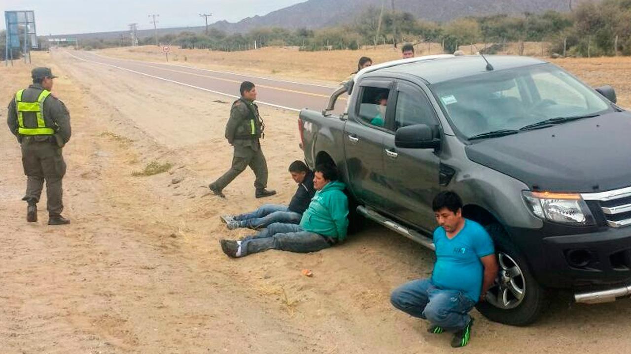 Más de cien kilos de cocaína secuestrados en Cafayate