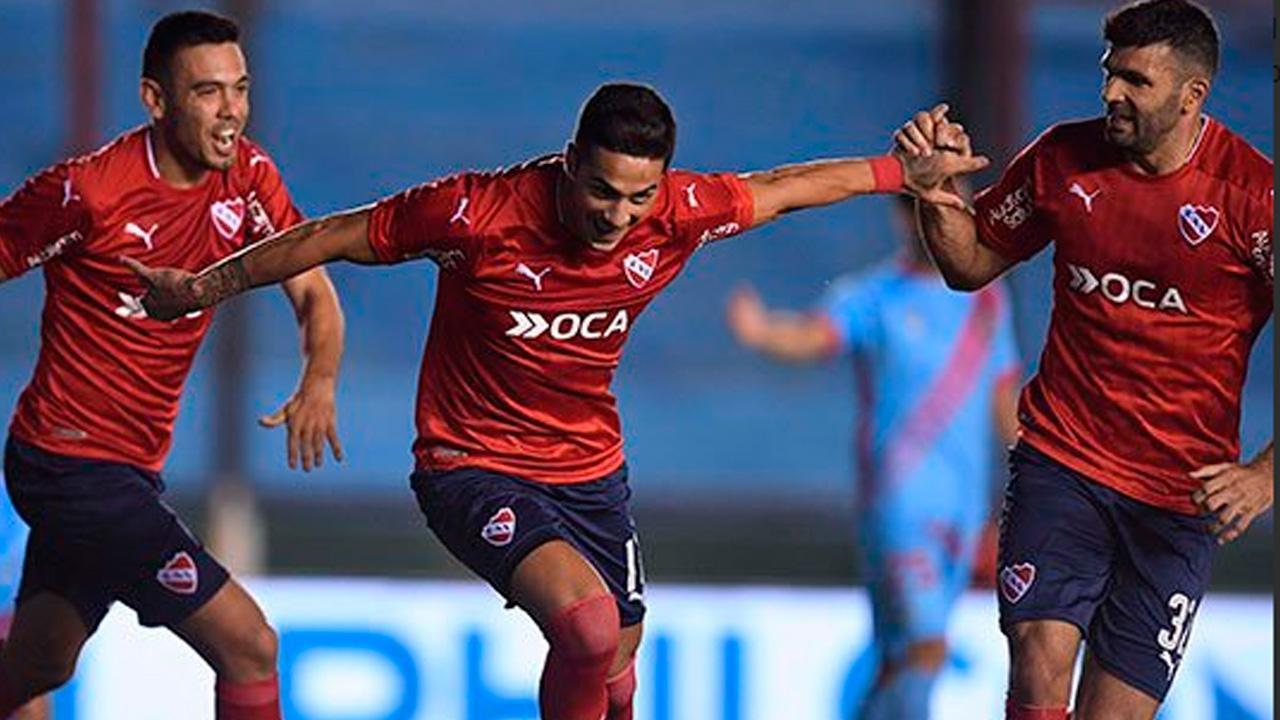 Independiente le ganó, de visitante, por 2-0 a Arsenal