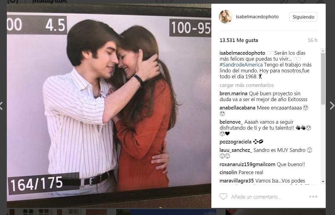 Qué actriz interpretará a Olga Garaventa en la serie Sandro, de América
