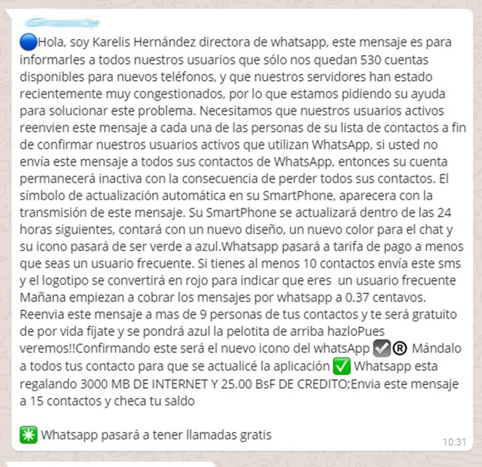 Se viraliza una falsa explicación del apagón de WhatsApp
