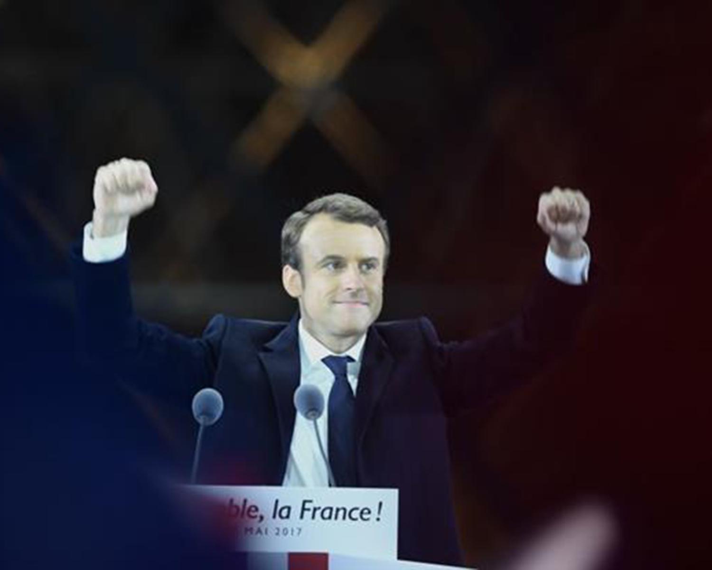 Macron: Gané para defender y fortalecer los vínculos de Europa
