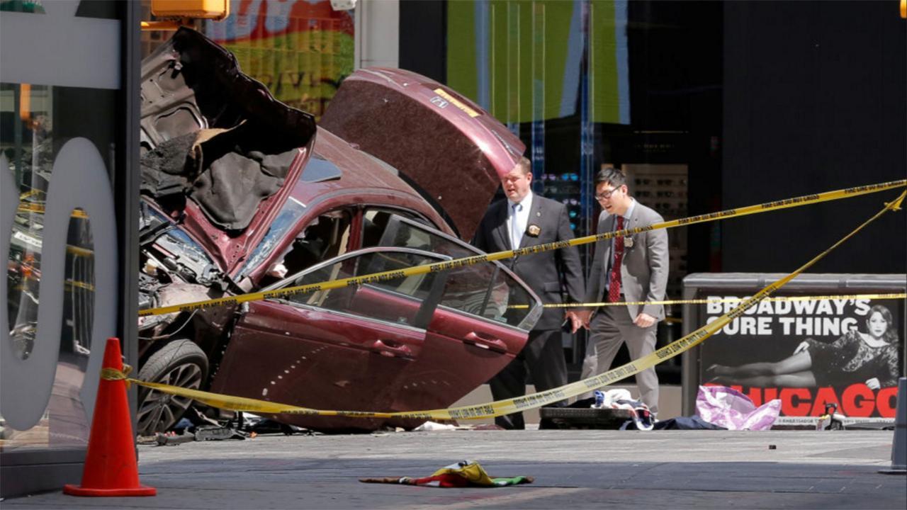 Presentan cargos contra el acusado de atropellar gente en Nueva York