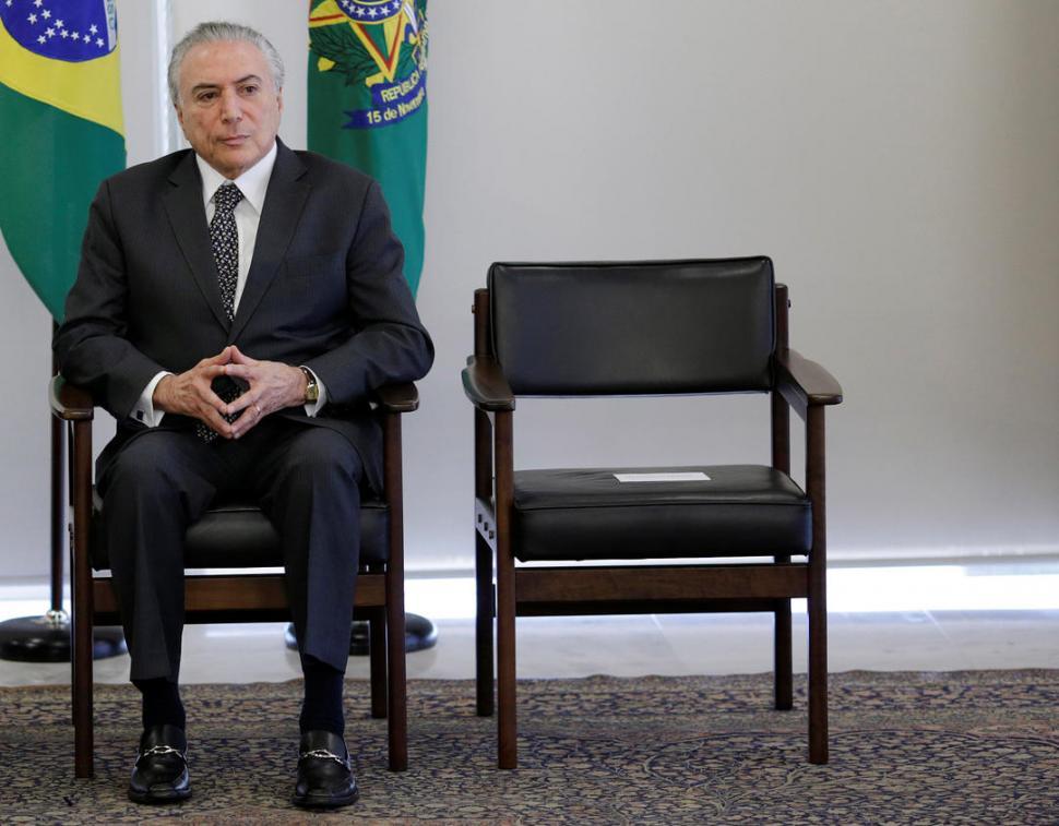 La Fiscalía brasileña pide autorización para tomar el testimonio de Temer