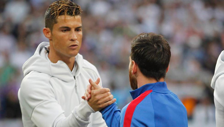Cristiano, primer futbolista que marca gol en tres finales