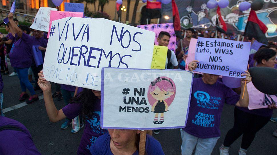 Este sábado se realizará la marcha #NiUnaMenos desde la plaza Libertad
