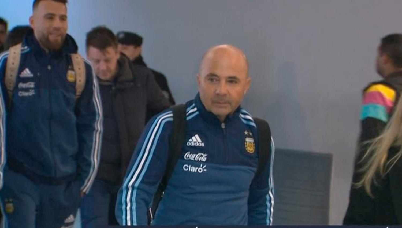Sampaoli fue presentado en Argentina: