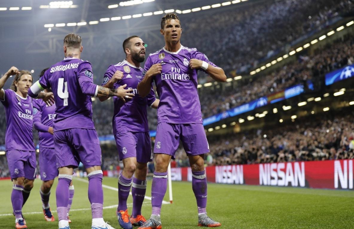 Por quinta vez Cristiano Ronaldo es el máximo goleador de la Champions