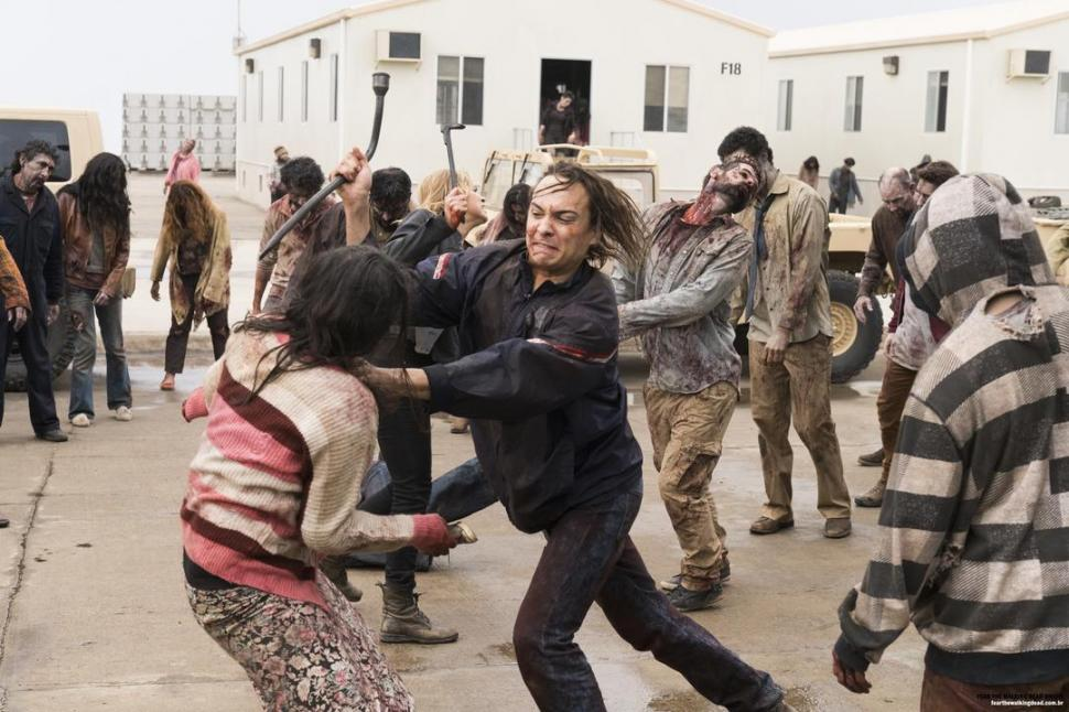 'Fear the Walking Dead', en su tercera temporada