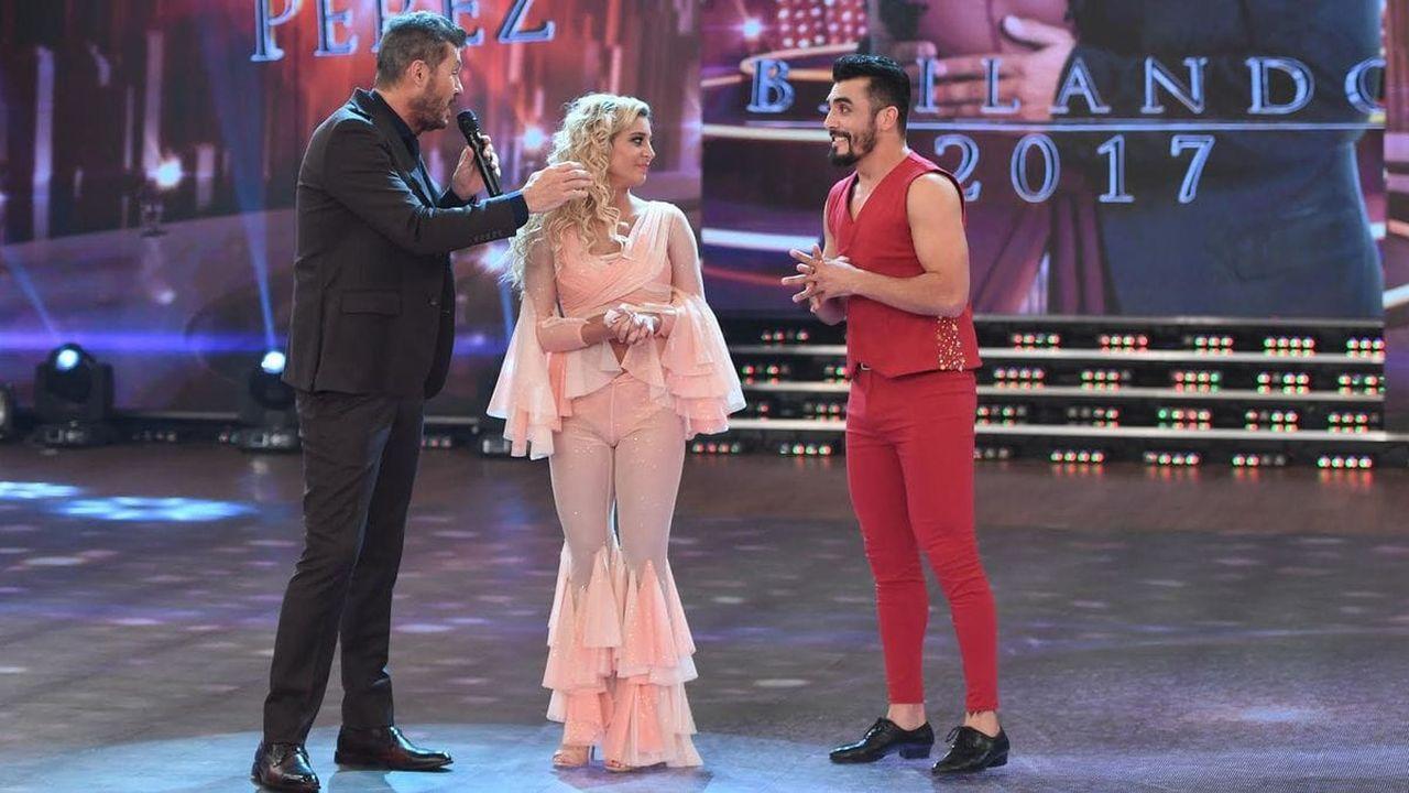 De calza y top, Sol Pérez la rompió en el Bailando 2017