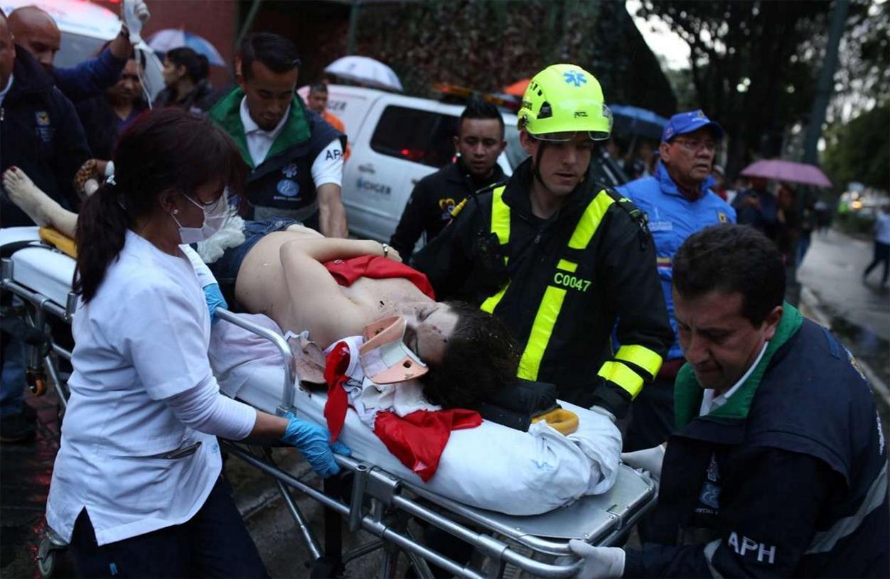 Atentado en Bogotá recuerda la barbarie de años pasados