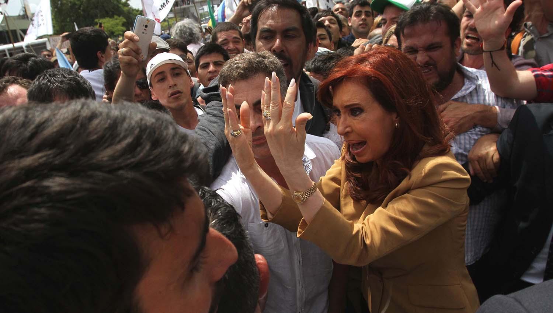 En vivo: Cristina lanza Unidad Ciudadana en la cancha de Arsenal