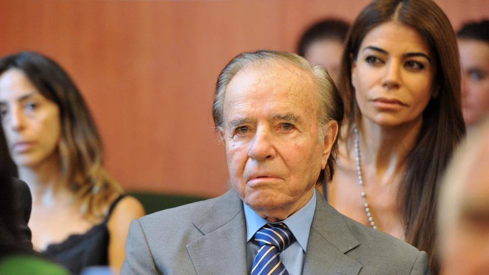 Confirman condena a Menem de siete años por venta ilegal de armas