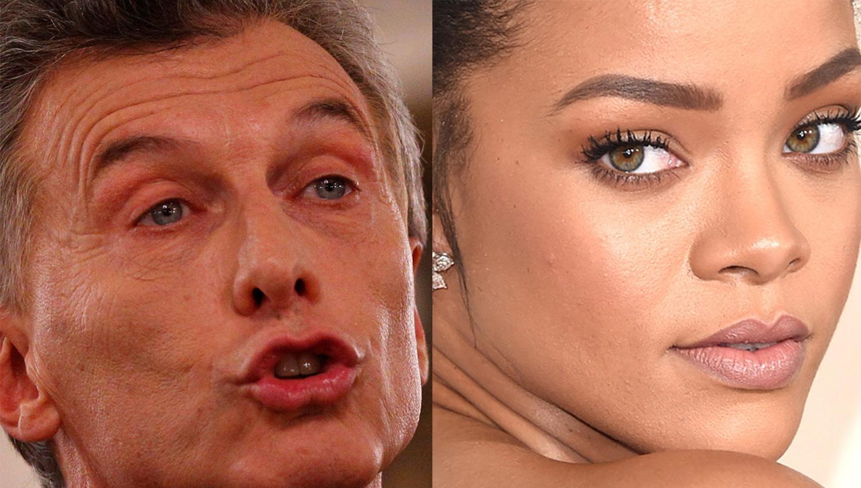 Mientras partidos definen candidatos, Macri le contestó a Rihanna