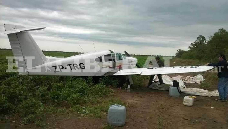 Santiago del Estero: tiraron dos toneladas de cocaína desde una avioneta
