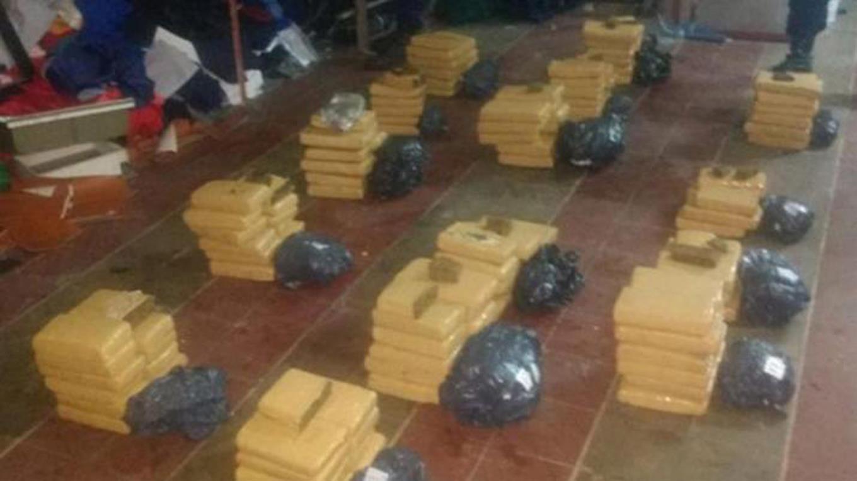 Histórico: decomisaron dos toneladas de cocaína