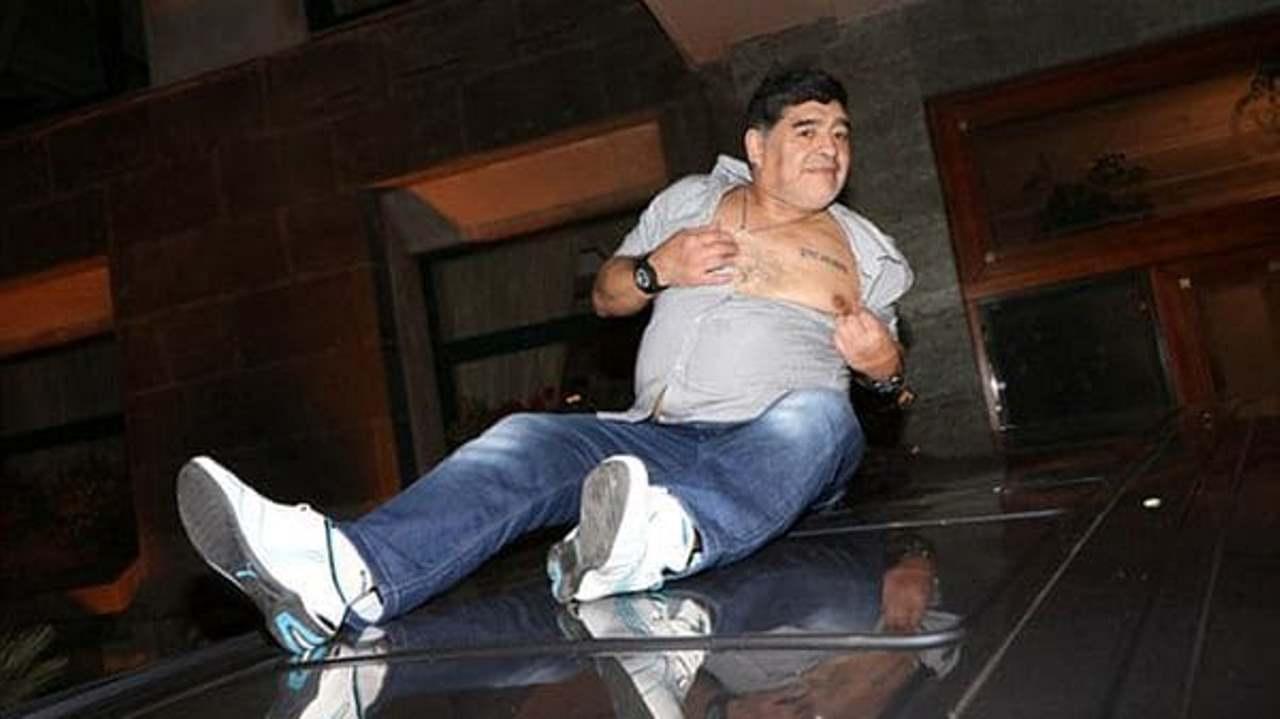 El sorpresivo reencuentro entre Diego Maradona y Cristiana Sinagra