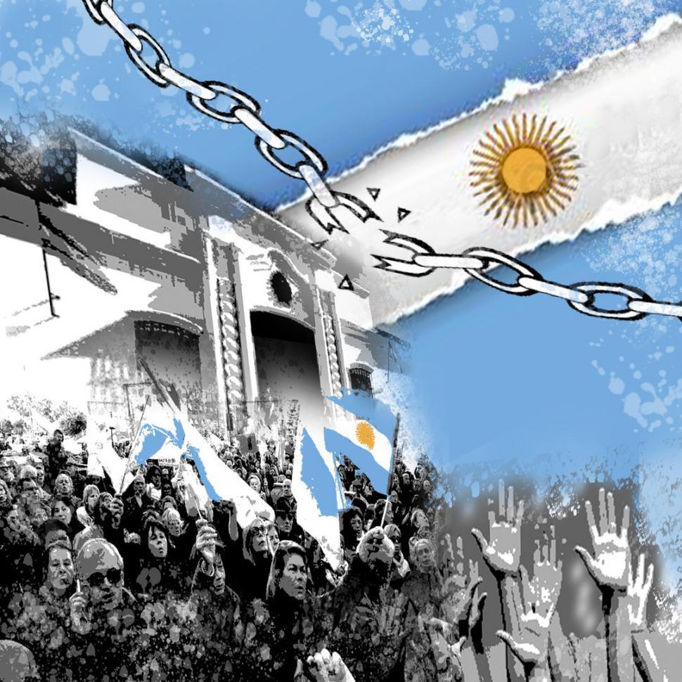 Tucumán: manifestantes insultaron a Michetti cuando se dirigía a la Casa Histórica