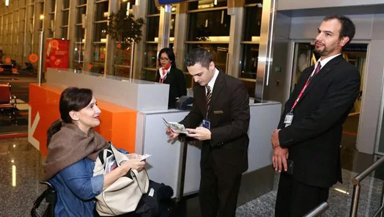 La vicepresidenta Gabriela Michetti se reunió con el presidente egipcio