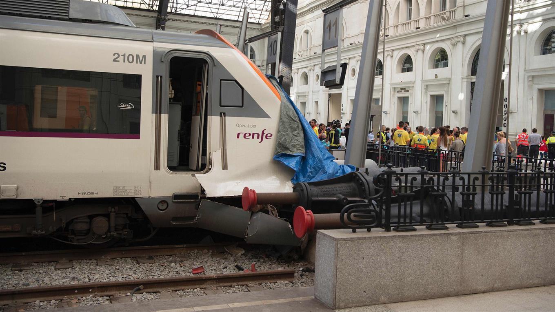 50 heridos en un accidente de tren en Barcelona — España